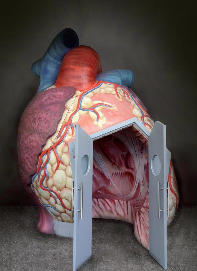Herz Eingang