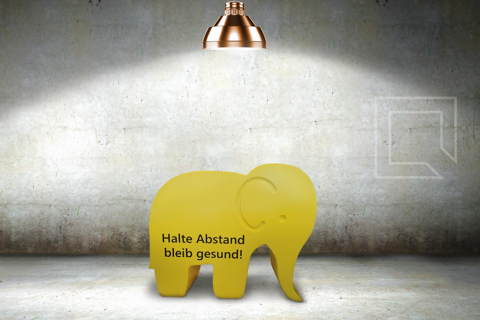 CUBIC - abstands-elefant
