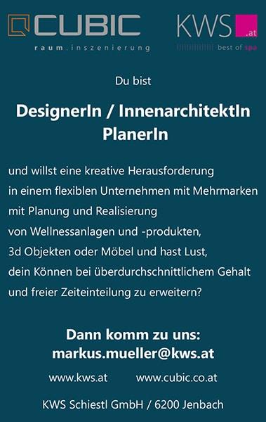 stellenanzeige designer